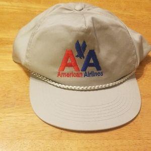 vintage American airlines snap back cap